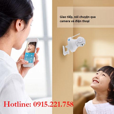 Lắp đặt camera giám sát trong gia đình có trẻ nhỏ