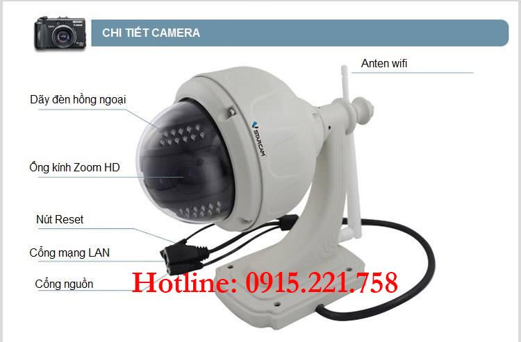 Mua Camera IP Wifi không dây giá rẻ tại Hà Nội