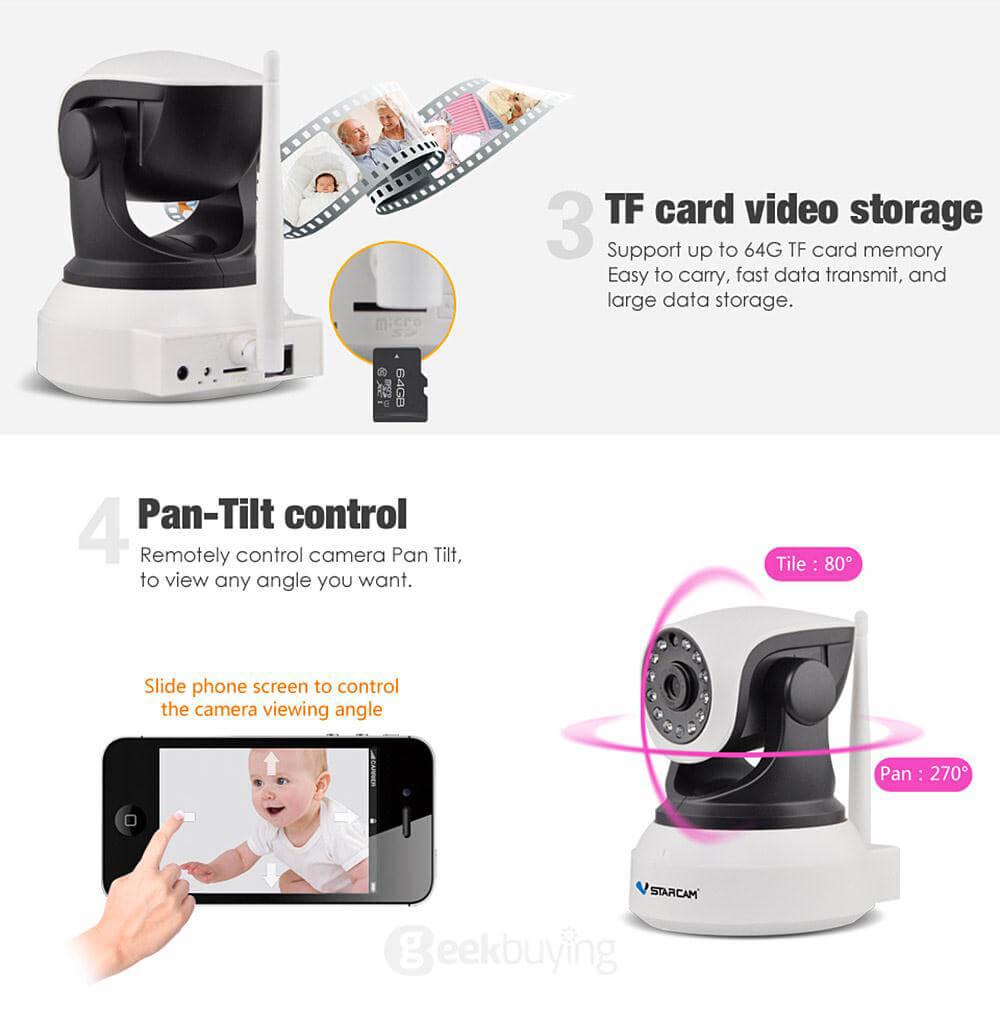 Chọn camera IP wifi giá rẻ phụ thuộc vào mục đích sử dụng